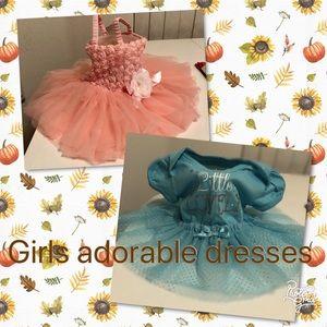 Infants fancy princess dresses